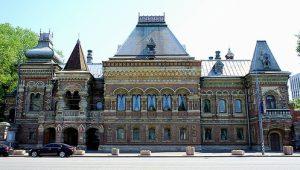 Оригинал взят у aroundtree в Дом купца Игумнова на Якиманке.